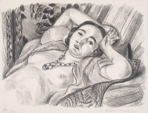 Odalisque au collier (Nude with Necklace)