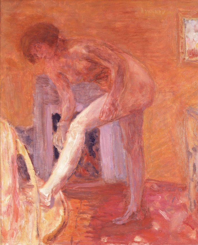 image of 'Femme aux bas blancs (Woman with White Stockings)'
