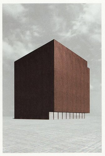 Silent Architecture [Museum rendering]