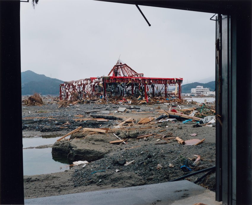 image of Takata-cho, 2011.3.22, from the series Rikuzentakata