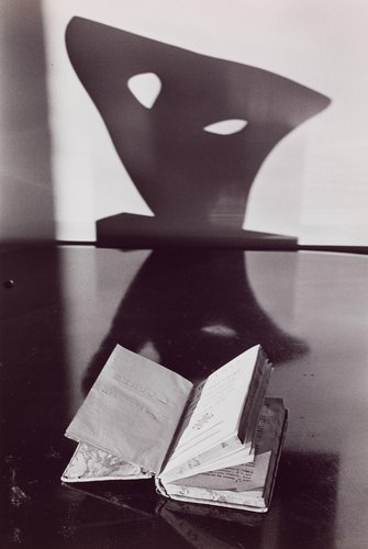 Still Life with Book and Sculpture
