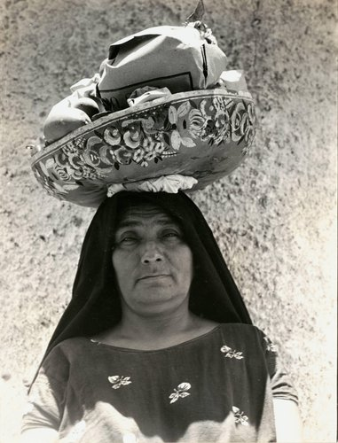 "Untitled [""Everything is carried on the head by the women in T.""]"