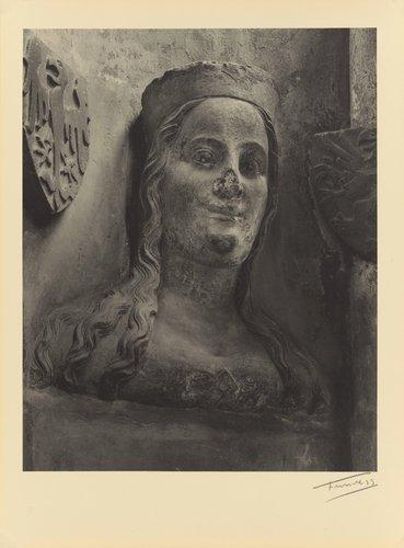 Alžběta Pomořanská (†1393) čtvrtá choť Karla IV. (Elizabeth of Pomerania, died 1393, fourth wife of Charles IV, from the portfolio Karolinský Cyklus)