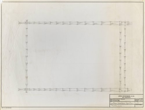 Custom bamboo poster bed for Firehouse