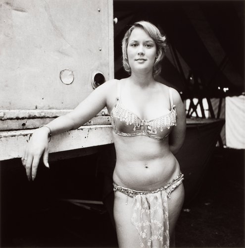 Ginger, Carlisle, Pennsylvania, from the series Carnival Strippers