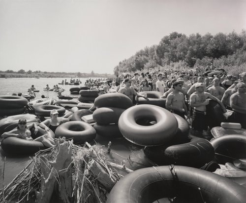 Inner Tubes on Labor Day, Sacramento River