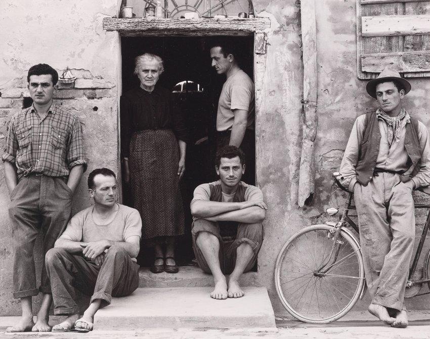 image of 'The Family, Luzzara, Italy, from Paul Strand: Portfolio Four'