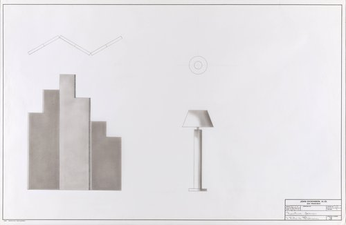 Furniture designs for J. Patrick Mahoney