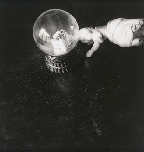 Untitled [Crystal ball with doll]