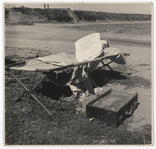 Potato Picker's Roadside Bed, Kern County