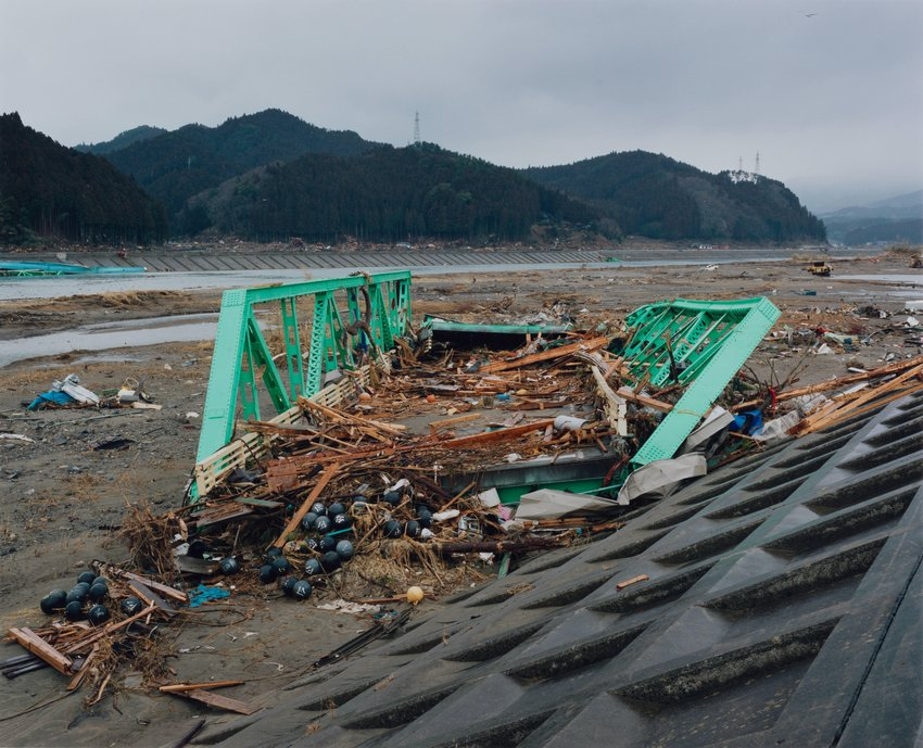 image of Kesen-cho, 2011.3.22, from the series Rikuzentakata