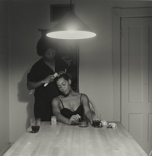 Carrie Mae Weems Kitchen Table Series Carrie mae weems untitled man and mirror from the series carrie mae weems untitled from the kitchen table series workwithnaturefo