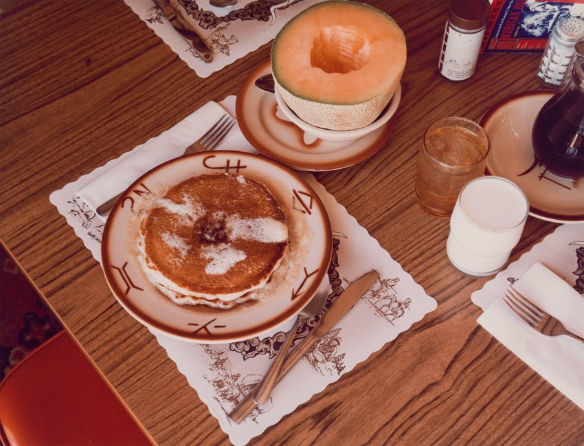 image of 'Breakfast, Trail's End Restaurant, Kanab, Utah'