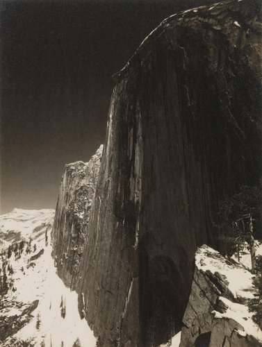 Monolith, the Face of Half Dome, from the portfolio Parmelian Prints of the High Sierras