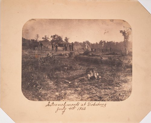 Failed Confederate Assault, Corinth, Mississippi