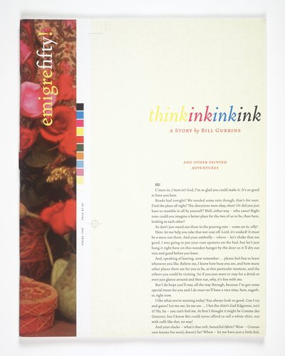 Emigre magazine, no. 50 (Think Ink)