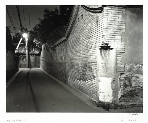 Jing Yang Hutong, from the series Hutong at Night