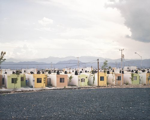 Fragmented Cities, Juarez #2, from the series Suburbia Mexicana