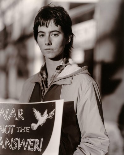 Annie Hasz, Protesting the U.S. War in Iraq, Easton, Pennsylvania, from the series Protest the War