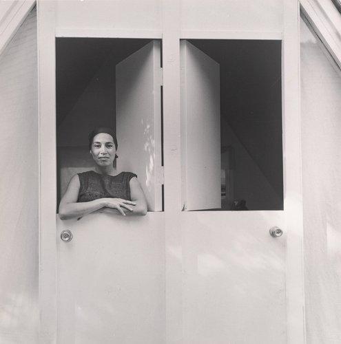 Barbara at the Door
