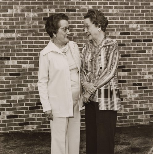 Margaret Brown & Mildred Ritchie, from the portfolio, Siblings