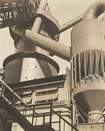 Blast Furnace and Dust Catcher, River Rouge Plant, Ford Motor Company
