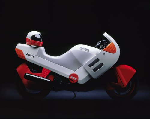 Prototype for Frog 750 motorcycle
