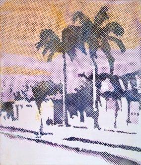 Image for artwork Palmen (Palm Trees)