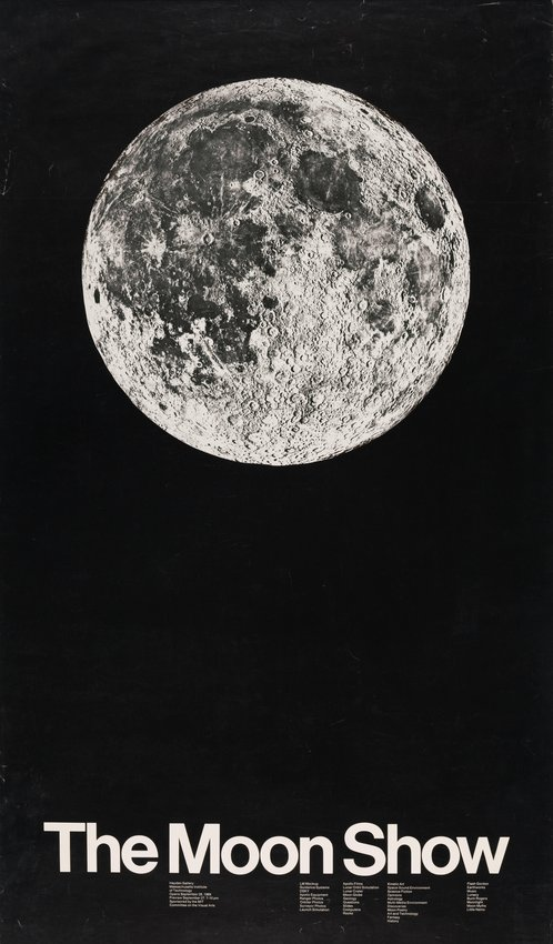 image of The Moon Show, Massachusetts Institute of Technology poster