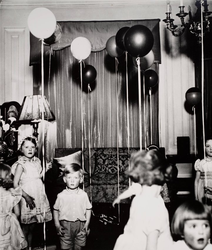 image of 'Children's Party - Kensington, from the series The English at Home'