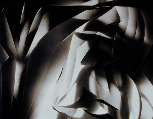 Cut-paper Abstraction, Plate 3 from the Francis Bruguiere portfolio