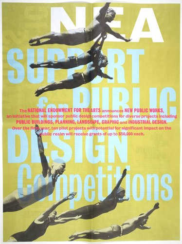NEA New Public Works 2000 poster