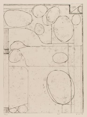 #5 from Six Softground Etchings