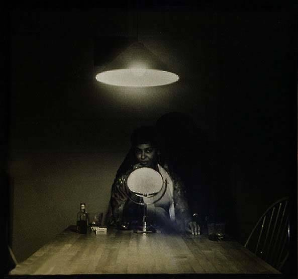 image of 'Untitled (Man and Mirror), from the series Untitled (Kitchen Table Series)'