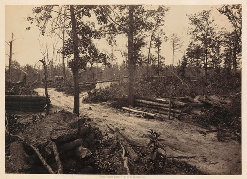 Battle Field of New Hope Church, Georgia, No. 1, from Photographic Views of Sherman's Campaign