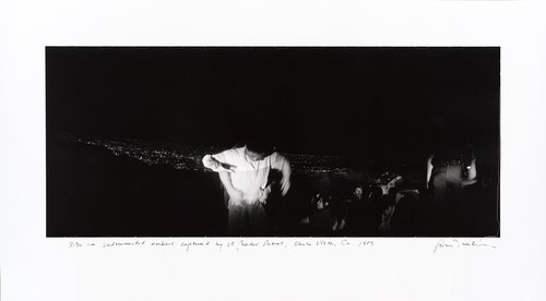 3:30 am Undocumented workers captured by U.S. Border Patrol, Chula Vista, California, from the series Crossings