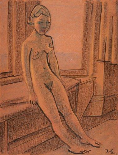 Blonde Nude