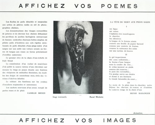 Affichez vos poèmes/Affichez vos images (Post Your Poems/Post Your Images)