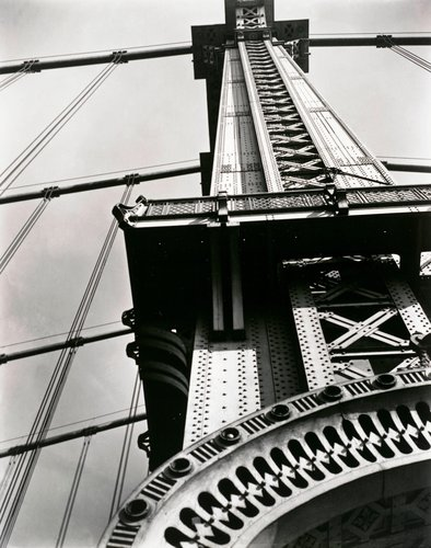 Manhattan Bridge: Looking Up