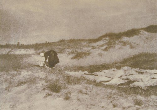 Washerwoman on the Dunes