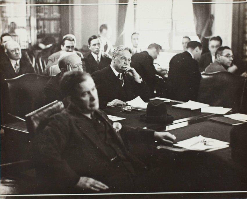 image of 'Washington, D.C.: Senator Hiram Johnson'