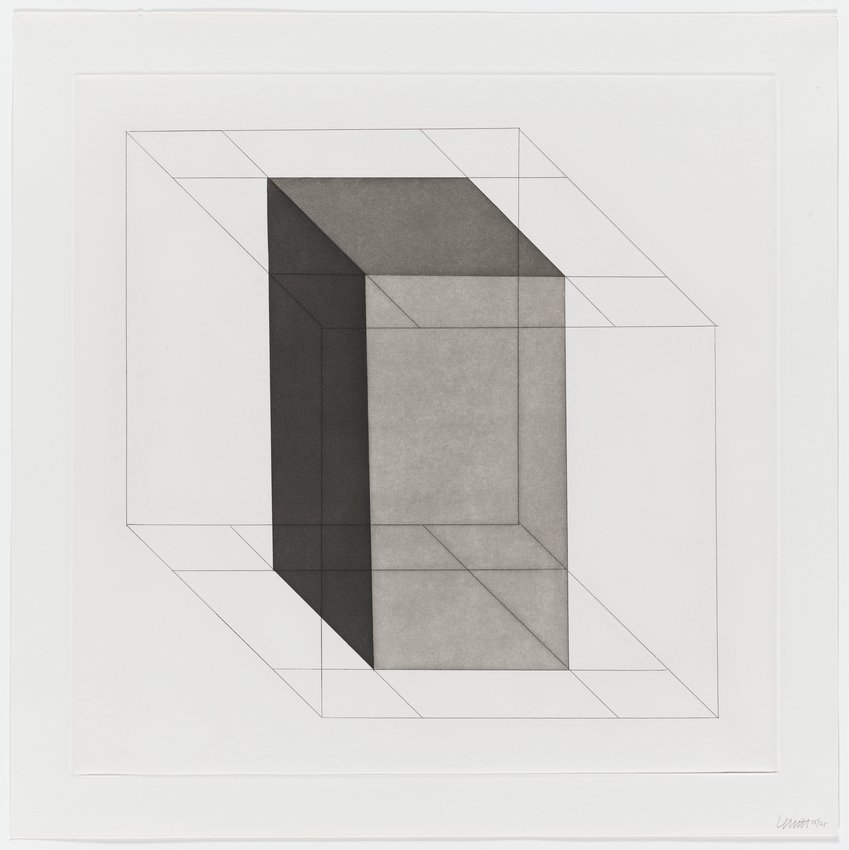 image of Forms Derived from a Cube, Plate #18