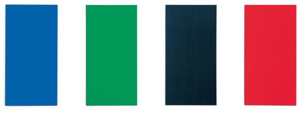 Image for artwork Blue Green Black Red