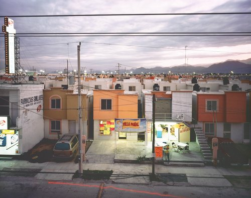 Business in a Newly Built Suburb in Juarez, from the series Suburbia Mexicana