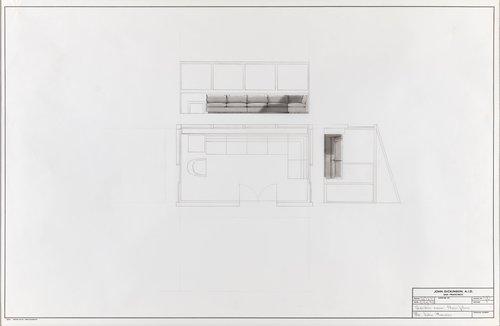 Garden room floor plan for Mr. John Houser