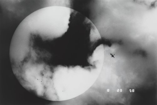 Sunspot and a Helicopter, from the series The Last Cosmology