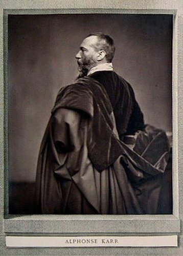 Alphonse Karr, from the publication Galérie Contemporaine, Littéraire, Artistique