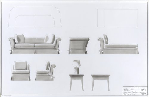 Living room furniture designs for Mr. Paul Wattis