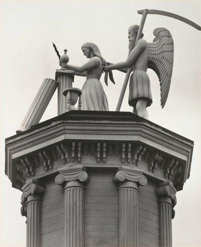 Masonic Temple Figures, Mendocino
