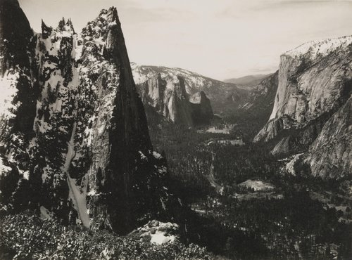 The Sentinel, from the portfolio Parmelian Prints of the High Sierras